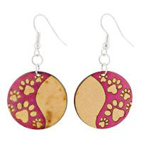 Love Paws Gourd Earrings