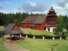 Slovakia, Svätý Kríž - Wooden church