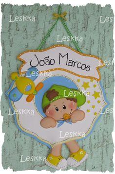 Placa de porta decorativa personalizada! R$42,00