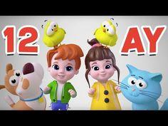 Yılın 12 Ayı Şarkısı |Küçük Çocuklar İçin Ay İsimleri |Ayları Öğreniyorum - YouTube Turkish Language, Preschool Songs, Circle Time, Kids Learning, Drama, Family Guy, Activities, Make It Yourself, Education