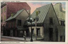 Maison Jacquet ( Décès du Marquis de Montcalm ) Restaurant aux Anciens-Canadiens