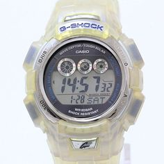 Jewelry-Total | Rakuten Global Market: G-SHOCK (G shock) CASIO I.C.E.R.C model GW-300KJ navy clockface SS X resin quartz men watch net shop