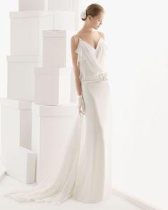 163 Ciclamen (Vestido de Noiva). Estilista: Rosa Clará. ...