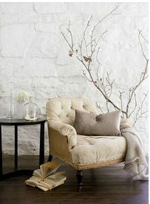 Beautiful neutral interiors. Styled by Lara Hutton, photographed by Sam McAdam