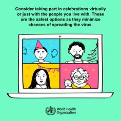Consider taking part in celebrations virtually or just with the people you live with. #COVID19 Valentines Outfits, Valentine Day Cards, Tuesday Quotes, Wedding Activities, World Health Organization, Trend Fashion, Down South, Health Advice, Denial