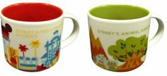 Starbucks + Disney Mugs...