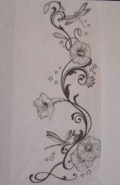 Skin art mornings 37 New Ideas Vine Tattoos, Foot Tattoos, Flower Tattoos, Body Art Tattoos, Small Tattoos, Sleeve Tattoos, Tatoos, Arrow Tattoos, Hummingbird Tattoo
