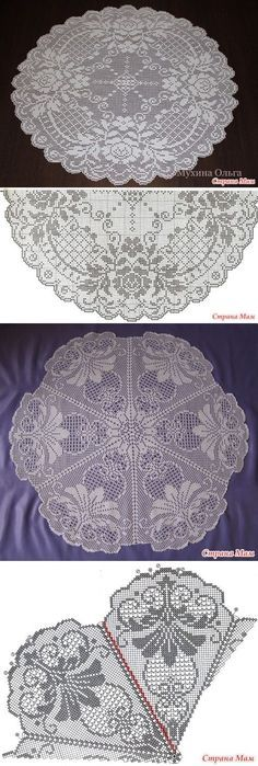 Ideas Crochet Doilies Filet For 2020 Filet Crochet Charts, Crochet Doily Patterns, Lace Patterns, Thread Crochet, Crochet Motif, Crochet Designs, Crochet Doilies, Crochet Stitches, Knit Crochet