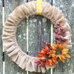 DIY Easy Fall Wreath