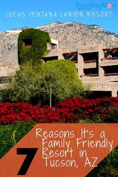 Loews Vantana Canyon Resort: 7 Reasons It's a Family Friendly Resort in Tucson, Arizona. Photo by Multidimensional TravelingMom, Kristi Mehes.