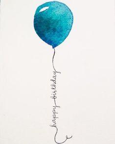 - Happy B-day Glückwünsche - Welcome My Crafts Happy Birthday Balloons, Happy Birthday Quotes, Happy Birthday Images, Happy Birthday Greetings, Birthday Fun, Birthday Memes, Happy Birthday Young Man, Male Birthday Wishes, Happy Birthday Painting