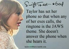 That's hilarious!!LOL it is great that you are not answering you are so talented how dare they hurt you but never mind you have your swifties just like me #swiftie and yeah they didnt know that you can write songs lol