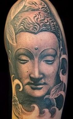 What does buddha tattoo mean? We have buddha tattoo ideas, designs, symbolism and we explain the meaning behind the tattoo. Buddha Tattoo Design, Buddha Tattoos, Buddha Tattoo Meaning, Buddha Lotus Tattoo, Lotus Tattoo Meaning, Zen Tattoo, Tattoos With Meaning, Body Art Tattoos, Sleeve Tattoos
