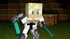 Garroth the gaurd from minecraft diaries