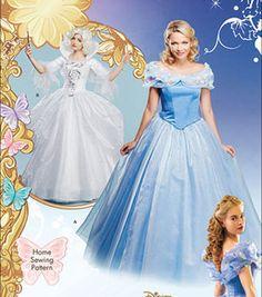 Simplicity Patterns Us1026R5-Simplicity Disney Cinderella, Fairy Godmother Misses Costume-14-16-18-20-22
