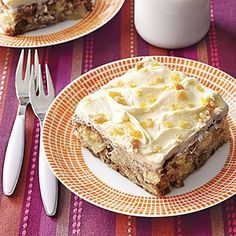 """Apple-Ginger Snack Cake 