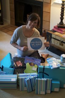 """alan and steph: How to """"Host"""" a Baby Shower by Mail"""