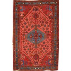 "Image of Hamadan Persian Rug - 4'3"" X 6'5''"