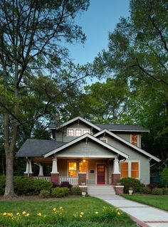 Bungalow House: An American Classic - Town & Country Living
