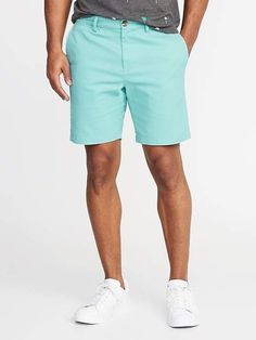 Old Navy Slim Built-In Flex Ultimate Shorts for Men - 8 inch inseam Mens Trends, Men Style Tips, Style Men, Mens Clothing Styles, Clothing Ideas, Golf Outfit, Short Outfits, Summer Outfits, Men Casual