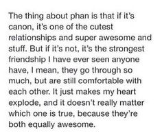 I don't ship Phan, but I think all of the Phandom needs to see this.