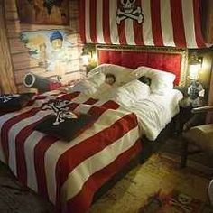 Pirate room: curtains