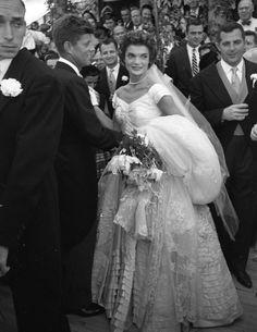 Jackie JFK Wedding Photos- Jackie Kennedy Wedding - Town & Country