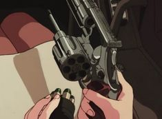miscelleneous retro anime gifs and screencaps (warning: some nsfw)// asks are off temporarily. Gun Aesthetic, Aesthetic Movies, Aesthetic Images, Aesthetic Videos, Aesthetic Grunge, Aesthetic Vintage, Aesthetic Anime, Aesthetic Dark, Anim Gif