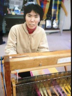 ErikoYamazaki- SAORI weaver in Fukuyama city in Hiroshima, Japan