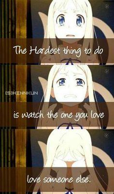 Anohana. Anime - quote