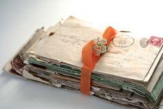 Dear Betty - Vintage Correspondence - Letters to Betty - Spring - Birdnestsandpaper on Etsy