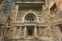 The Ajanta Caves - India