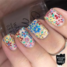nails, nail art, nail polish, indie polish, florals, flowers, polish those nails