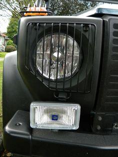 Head light, grill, spot light, fog light, hella, Mercedes Benz, 300GD, Gelandewagen, G wagon, G Klasse, G Class, W460, Diesel, OM617A, turbo, OM617.952, LWB, Long Wheel Base, 5 Doors, Overland, Custom, Modified, 4x4