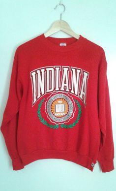 Vintage Indiana Hoosiers I.U. basketball shorts 3NQfT1vBt