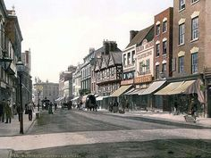 Southgate Street, Gloucester, England  My Walker and Hyde ancestors came from Gloucester