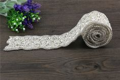 1Yard rhinestone applique bridal belt applique wedding sash applique crystal applique beaded patch for DIY wedding -- Check out the image by visiting the link.