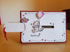 Karte - Stampin' Up! - Bella & Friends und Aus freudigem Anlass - Glutrot und Wildleder