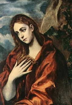 Unknown Artist Penance of Mary Magdalene By El Greco oil painting for sale; Select your favorite Unknown Artist Penance of Mary Magdalene By El Greco painting on canvas or frame at discount price. Spanish Painters, Spanish Artists, Sitges, Hans Baldung Grien, Maria Magdalena, Jesus Christus, Creta, Ferrat, Johannes Vermeer