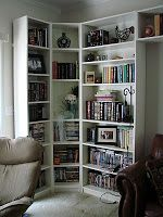 Billy Bookcases In The Corner Of Bedroom