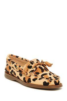 Sperry Leopard Boat Shoe