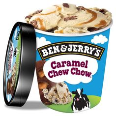 Ben And Jerry's Caramel Chew Chew Ice Cream 500Ml