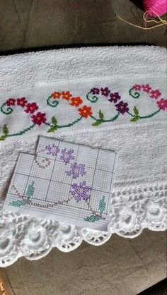 This Pin was discovered by Gül Cross Stitch Love, Cross Stitch Borders, Cross Stitch Flowers, Cross Stitch Designs, Cross Stitching, Cross Stitch Embroidery, Cross Stitch Patterns, Canvas Template, Le Point