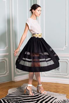 Alice + Olivia Spring 2015 Ready-to-Wear Fashion Show Collection