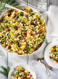 Salade composée; recette de salade ; recette salé