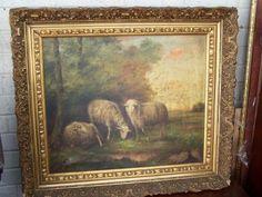 12F28083 Oil Painting of Sheep.JPG