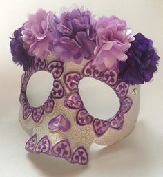 Just got new flower in!  We will be making sugar skulls this week in all kinds of colors!