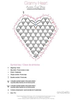 Granny Hearts for Valentine's Day. Something that is quick to make and always good fun for decorating or giving away. I thought I'd share the pattern with you all so you can start making your own hear