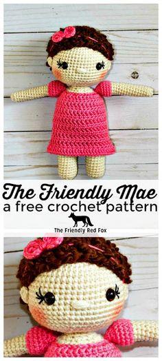 220 Best Crochet Doll Stuffs Images On Pinterest In 2018 Crochet