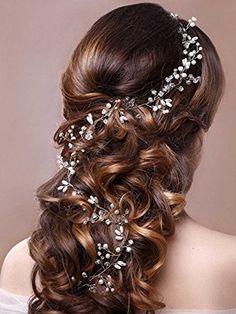 lovely half up half down wedding hair ideas